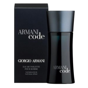 Type Black Code for Men