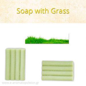 Grass soap