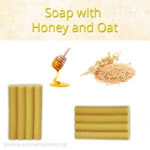 Honey and Oat soap