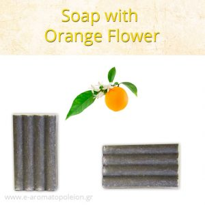 Orange flower soap