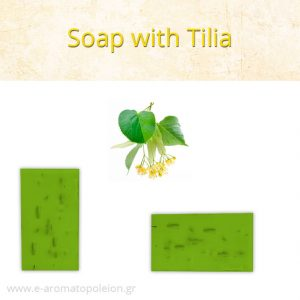 Tilia soap with Dead Sea Salts