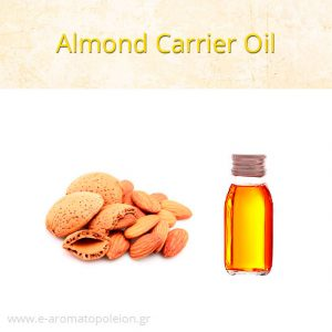 Almond oil scented with Fragrance