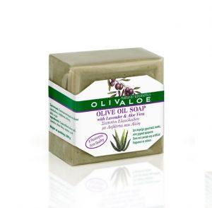 Olive Oil Soap with Aloe Vera & Lavender