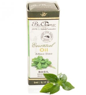 100% Pure Essential Oil Basil. 5ml